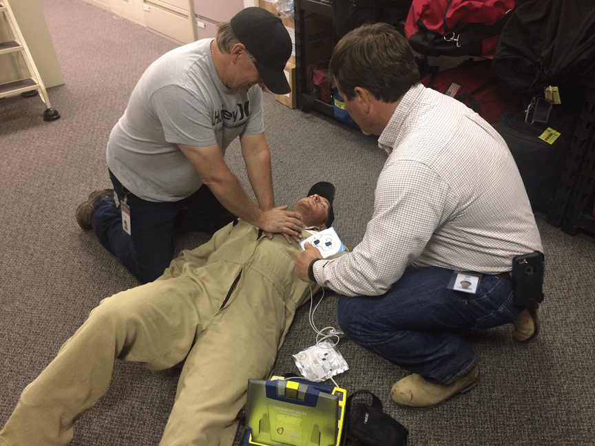 Shock value: Grab an AED, save a life - Aera Energy