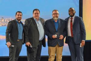 Aera receives the Digital Impact Award at PI world.