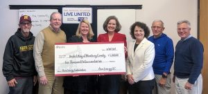United Way MC check presentation