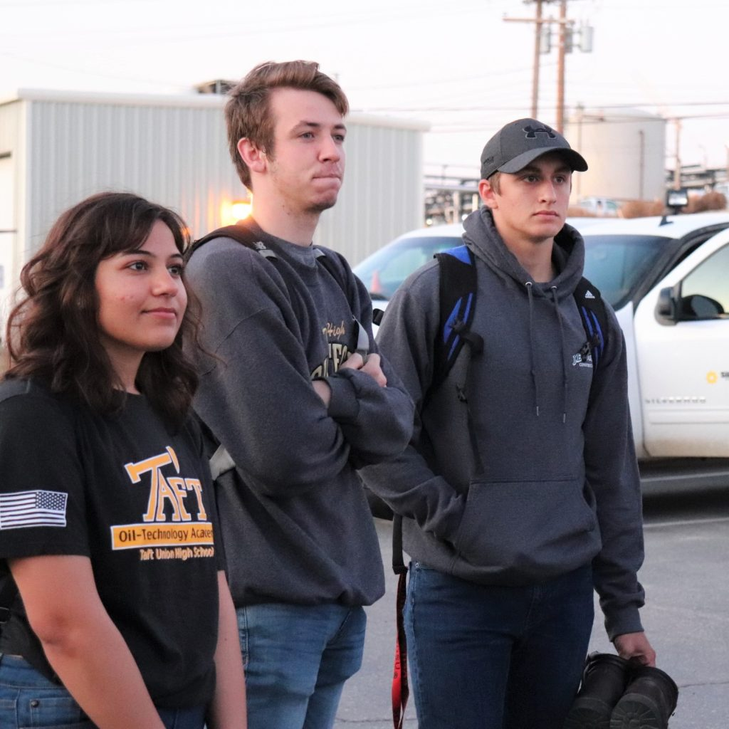 (From left) Taft High School's Amanda Diaz, Tyler Terrell and Jacob Ellis are among the recipients of a 2020 Aera scholarship.