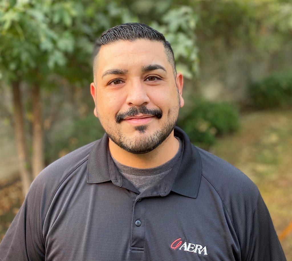 Aera information specialist Victor Perez