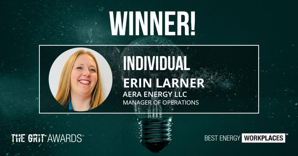 2020 Grit Winners Erin Larner