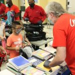 Aera employees distributed school supplies to students through its Tool for Schools campaign, which assists families served by the Boys & Girls Clubs of Kern County.